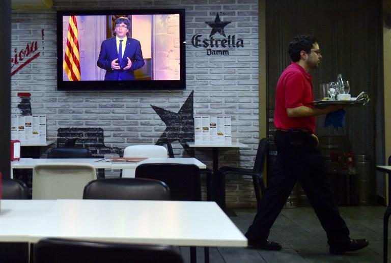 A nap kérdése: kikiáltja-e a függetlenséget 6 órakor kezdődő beszédében a katalán elnök?