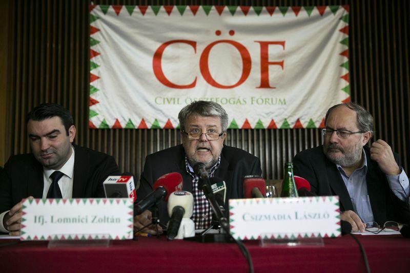 CÖF: az EP-elnök a magyar balliberális mikropártok kottájából játszik