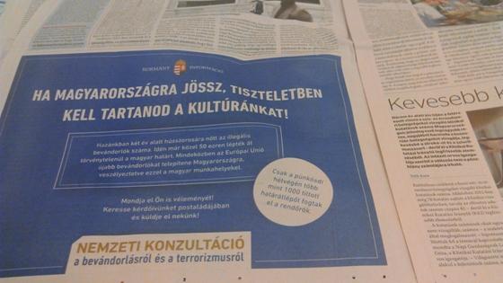 Az új bevándorlóellenes reklámok már az EU-t is támadják