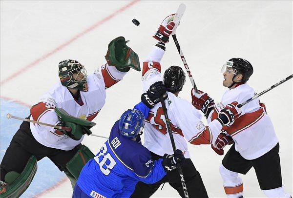 Fantasztikus győzelmet aratott az olaszok fölött a magyar jégkorong-válogatott