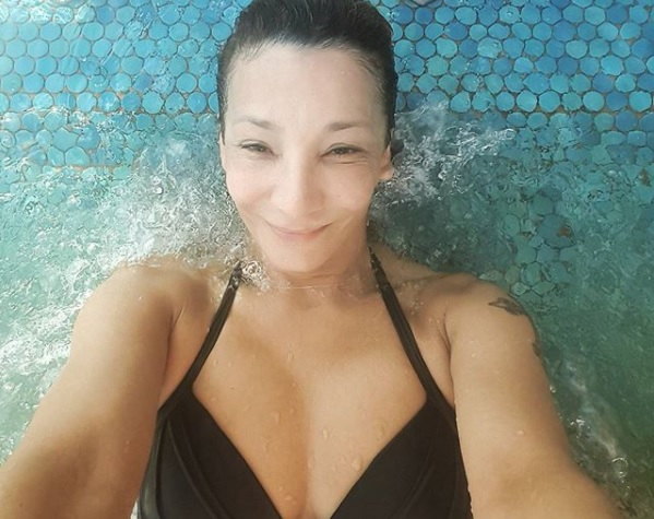 Bikiniben mutatta meg testét az 53 éves Keresztes Ildikó