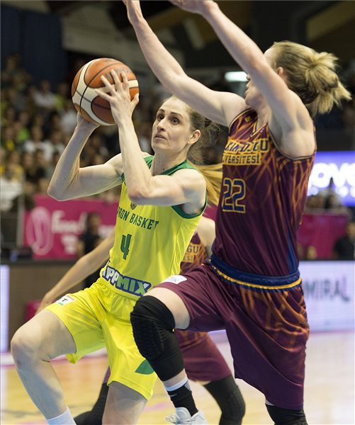 A Sopron bejutott a női kosárlabda Euroliga döntőjébe