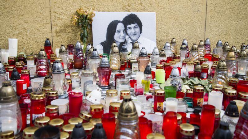 A meggyilkolt újságíró cikkének több szereplőjét őrizetbe vette a szlovák rendőrség