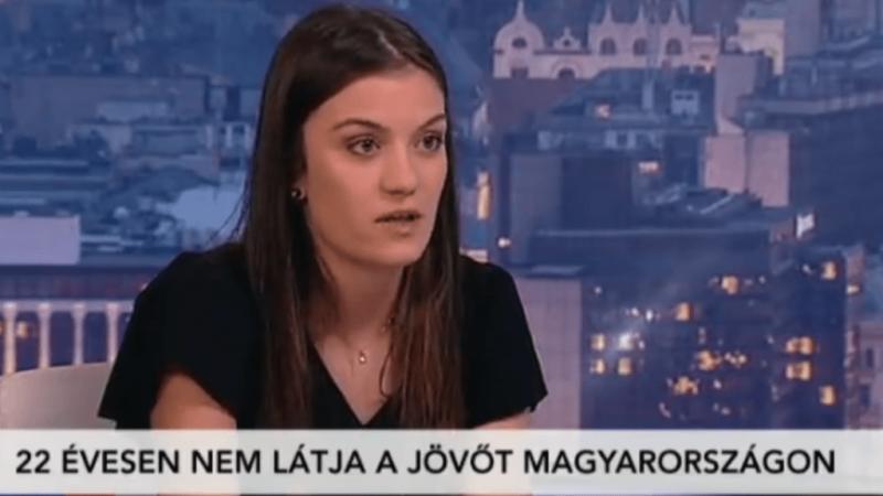 880 ezer forintos fizetést ajánlottak Lucának, aki a kilátástalan magyarországi jövőről posztolt