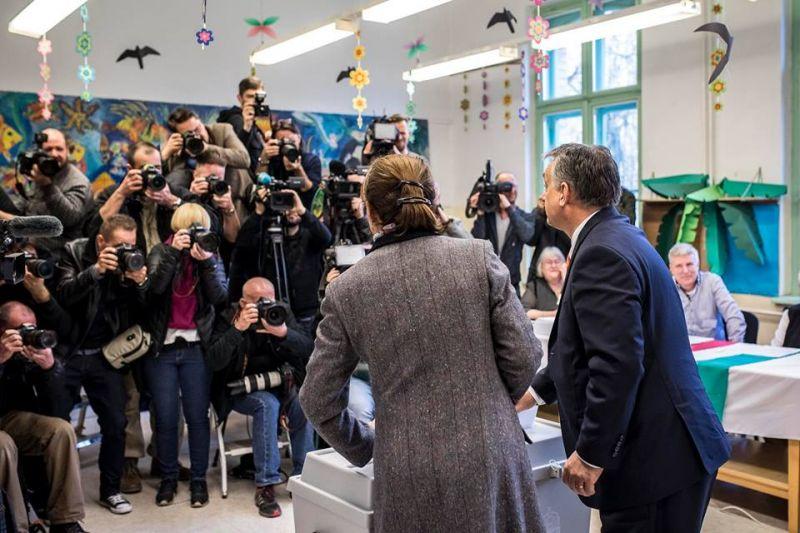 Orbán Viktor elárulta, hova húzta az ikszeket
