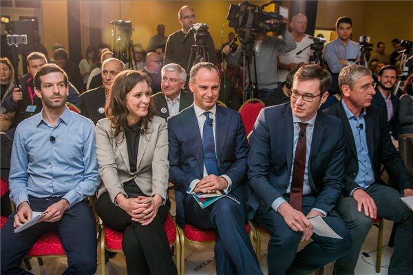 Koalíciós kormányzásra készül a baloldali ellenzék, Szél Bernadett szerint csak az LMP mögött nincs oligarcha