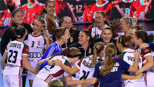 Korea legyőzésével döntős a magyar válogatott a junior női kézilabda vb-n