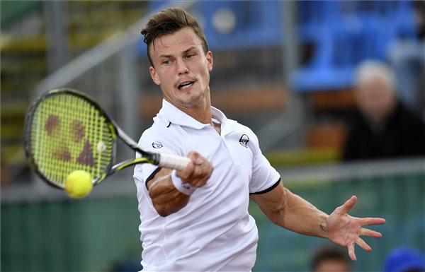 Fucsovics Márton bejutott a legjobb nyolc közé a genfi tenisztornán