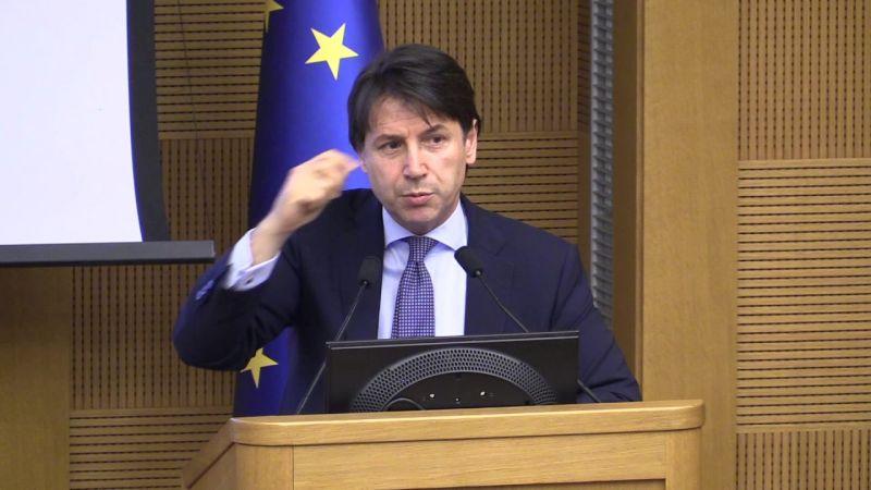 Giuseppe Conte az olasz miniszterelnök-jelölt