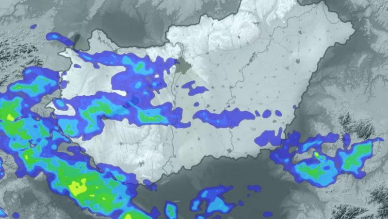 Most tör be a hidegfront az országba – mutatjuk, hol és mikor ered el az eső
