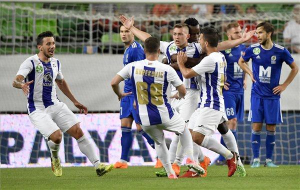 Az Újpest nyerte a labdarúgó Magyar Kupát
