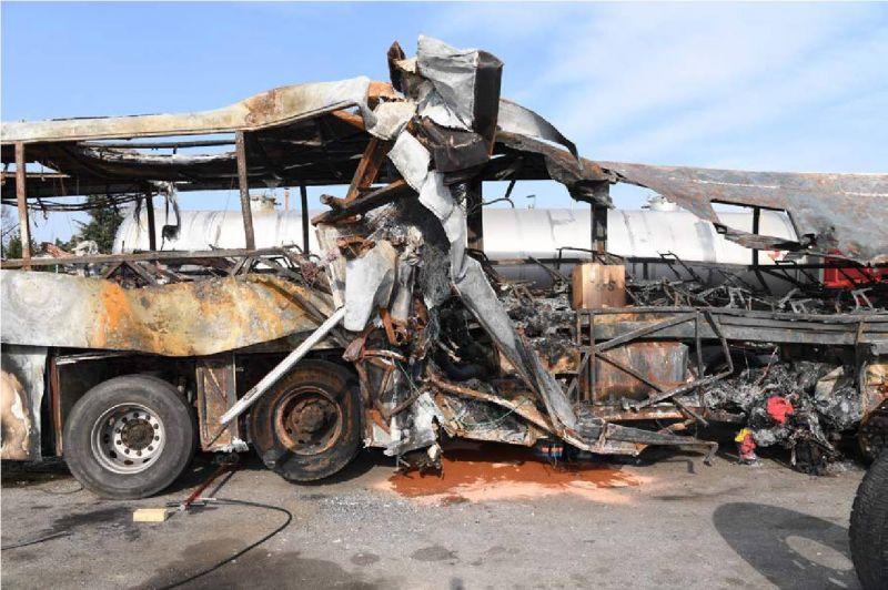 Ismeretlen tettes ellen nyomoznak a veronai buszbaleset ügyében