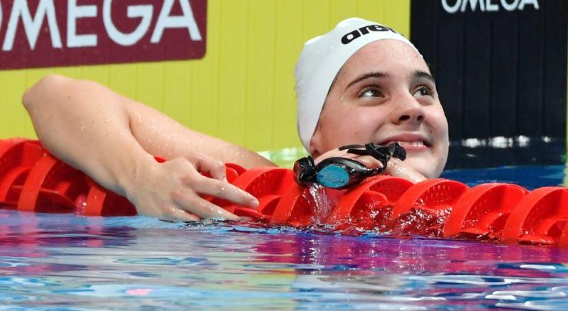 Berecz Blanka ezüstérmet szerzett a junior úszó vb-n