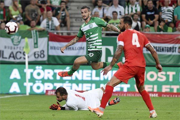 Kétgólos előnyt szerzett a Ferencváros máltai riválisával szemben