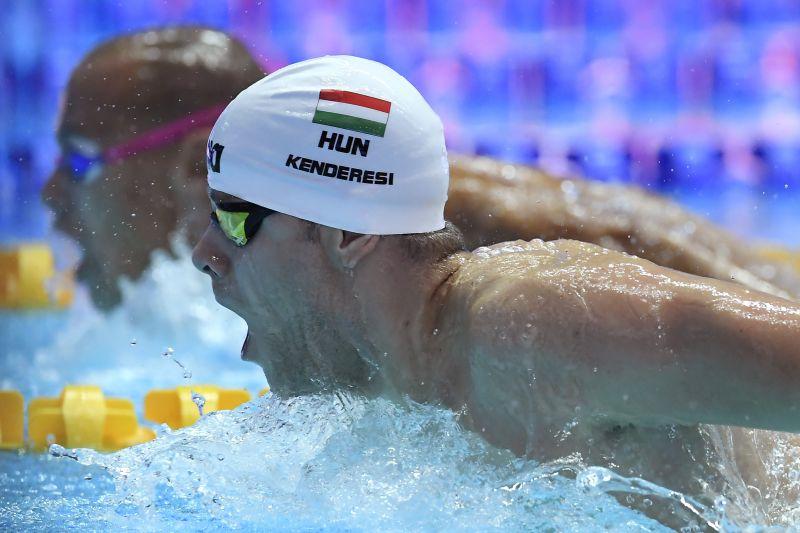 Szexuális zaklatás miatt előállították Kenderesi Tamás úszót a koreai vizes vb-n