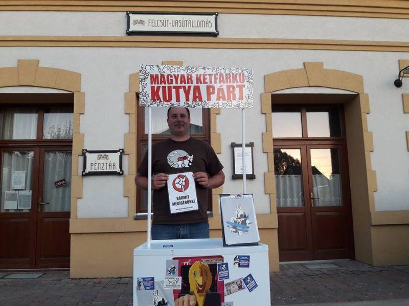 Négy budapesti kerületben is elindul a Kétfarkú Kutya Párt