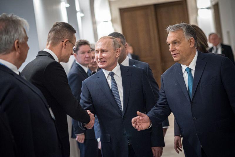 Putyin Budapesten – Orbán szerint Magyarország is nyer, ha jók a kapcsolatok a NATO és Oroszország között