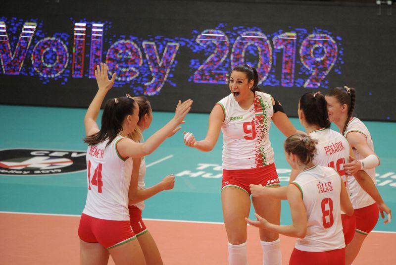 Kikapott Romániától a magyar női röplabda-válogatott