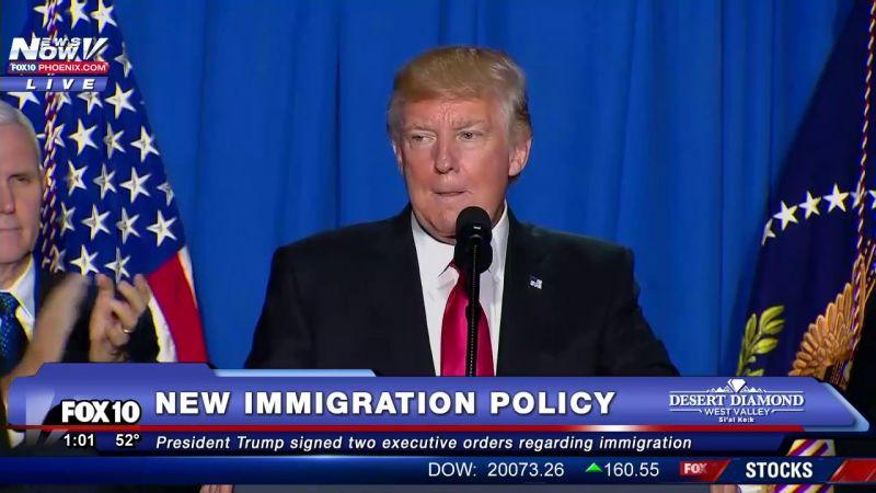 Trump 10 amerikai városban megkezdi a migránsok kitoloncolását