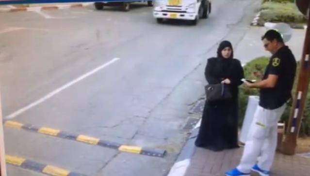 Videón a késelő palesztin nő támadása