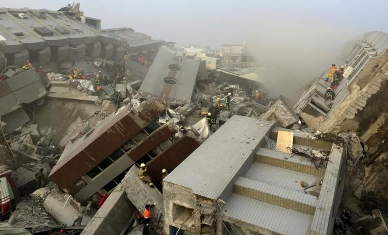 6,4-es erősségű földrengés rázta meg Tajvant, több halott