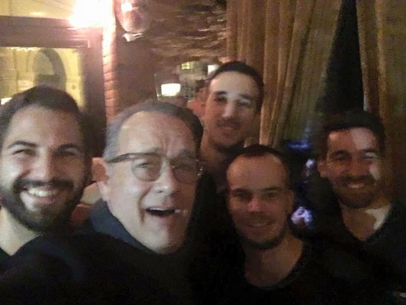 Újabb budapesti szórakozóhelyen járt Tom Hanks