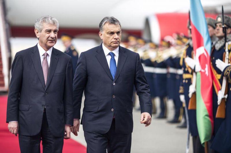 Orbán Viktor időjárás-jelentést adott Bakuból