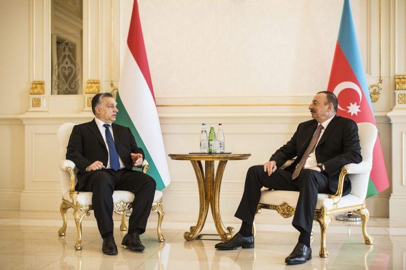 Orbán: Nagy lehetőség előtt a magyar-azeri együttműködés