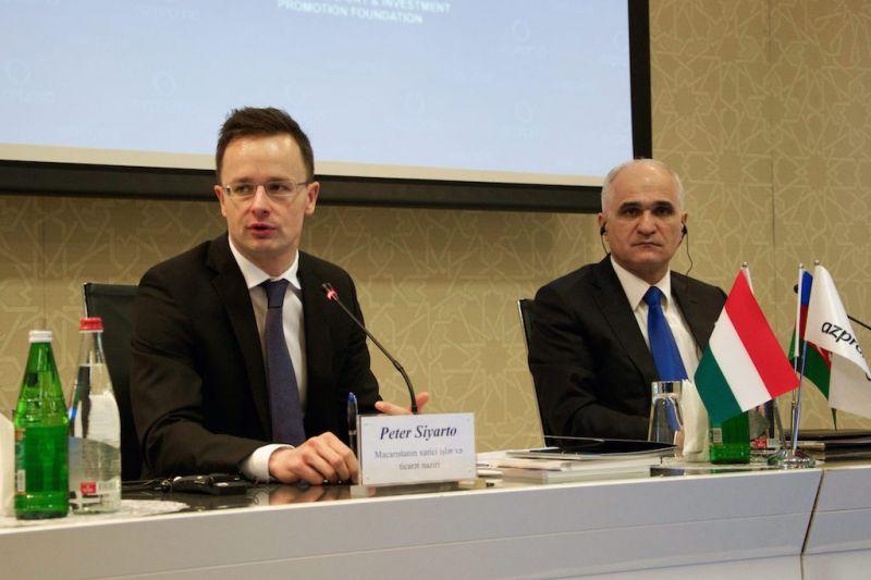 Szijjártó: Azerbajdzsán barátja Magyarországnak