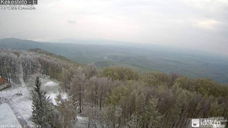 Havazott a Kékesen és a Bükkben is – videó