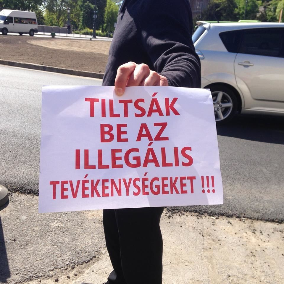 A tüntető taxisok érvei mindenkit hazavágtak