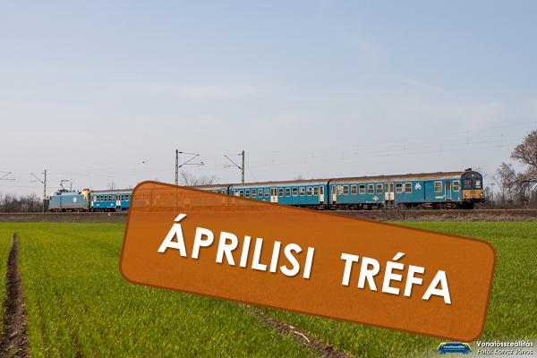 Áprilisi tréfa volt, hogy egy Bhv-s ingavonat hátul működő mozdonnyal közlekedett
