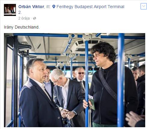 Zseniális szóviccel köszönt el Orbán Magyarországtól