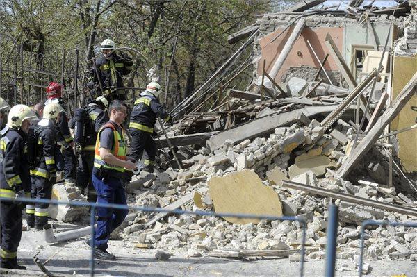 Halálos áldozata is van a csepeli robbanásnak