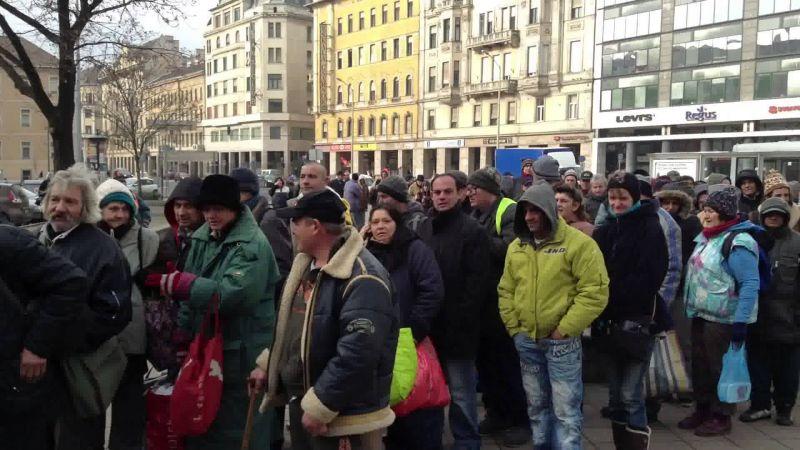 Négymillió magyar él kevesebb mint 800 forintból naponta