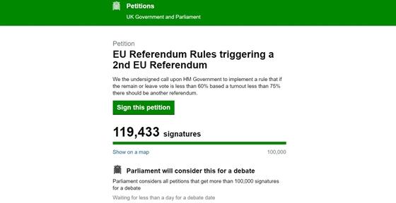 Új népszavazást akarnak az EU-párti britek