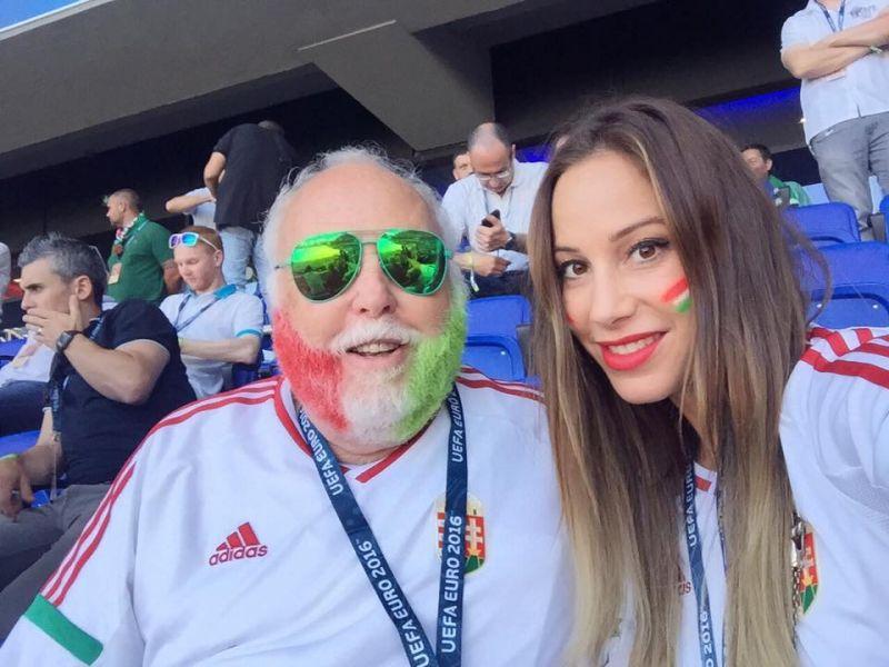 Görög Zita félmeztelenül ünnepelte a magyar csapat sikerét