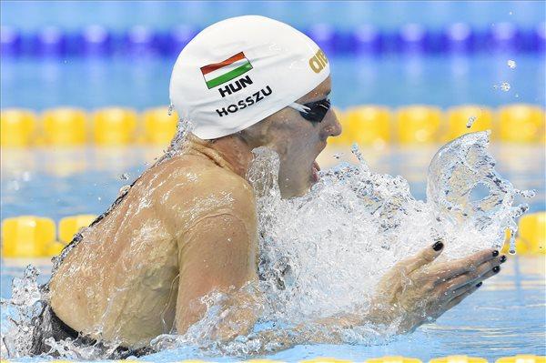 Hosszú Katinka világcsúccsal olimpiai bajnok