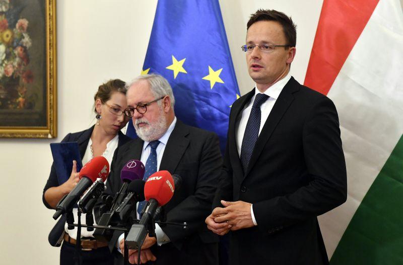Szijjártó: Óriásit javulhat Magyarország energiabiztonsága