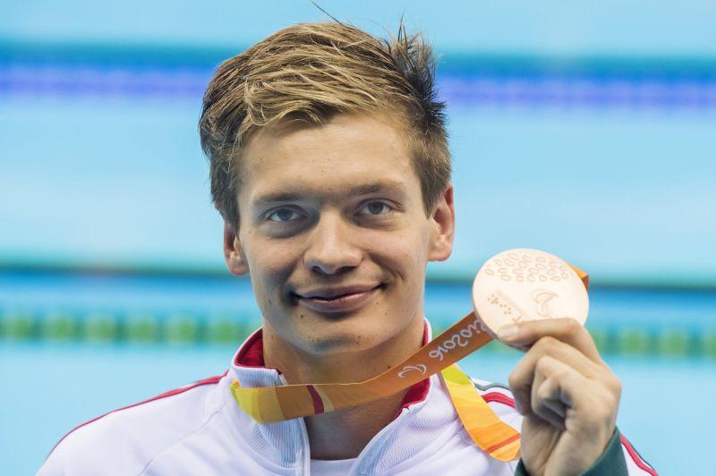 Tóth Tamás bronzérmes 100 méter gyorson