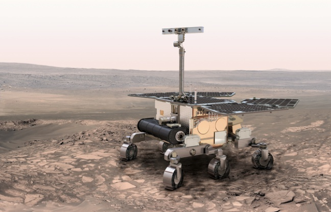 Sikeresen landolt a Marson az ExoMars kutatóegység