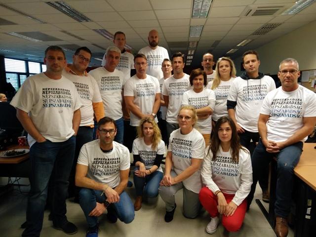 Az RTL Klub híradósai is kiálltak a Népszabadság mellett