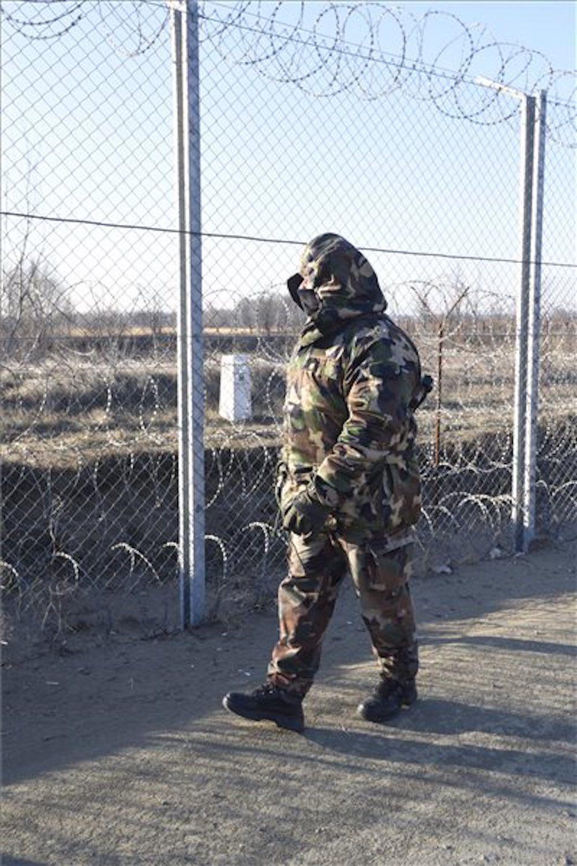 Megörökítették a határon fagyoskodó honvédjeinket