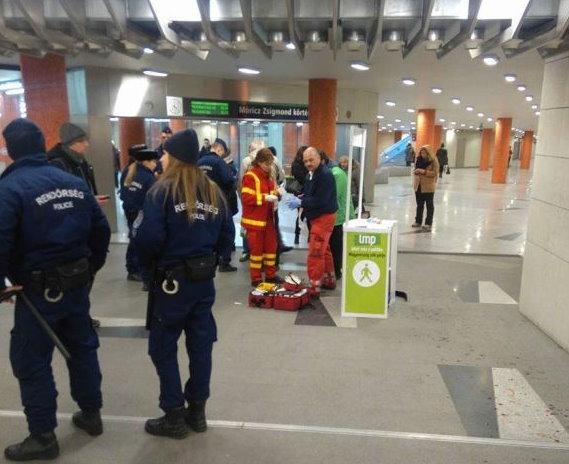Vérző fejjel bemenekült a forgalmi irodába – elmesélte a történteket a Móriczon leütött aktivista