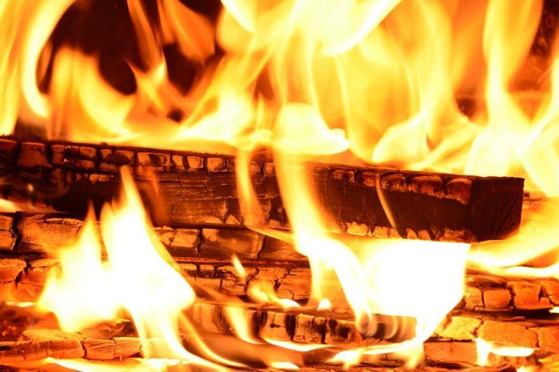 Lángol egy ház a Ráday utcában