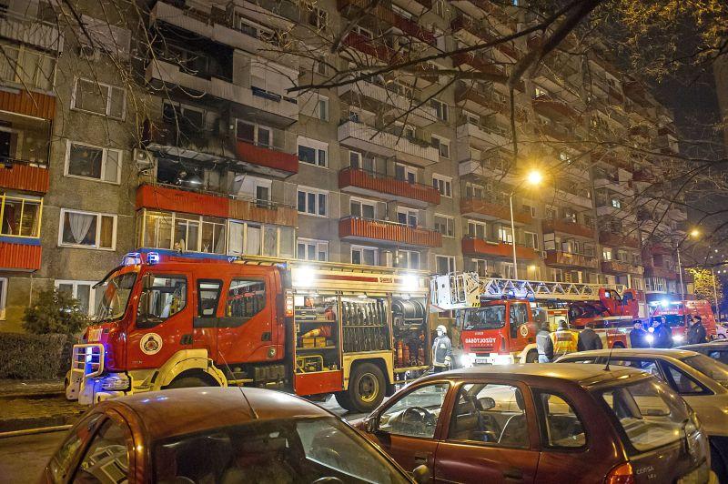 Öt ember szenvedett füstmérgezést Budapesten