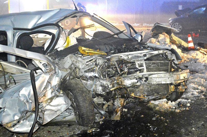 Autóbaleset történt Nyíregyházán, egy ember meghalt