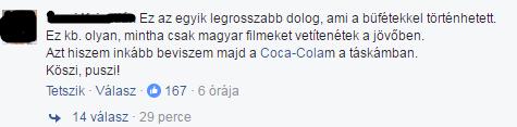 Nincs több Coca Cola, őrjöngenek a magyar mozirajongók