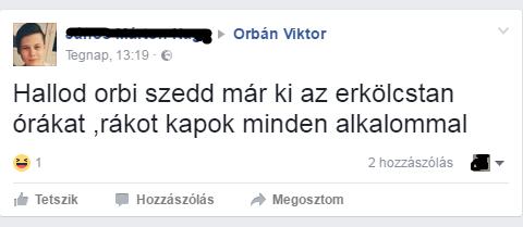 A hét beszólása: kisiskolás üzent Orbán Viktornak