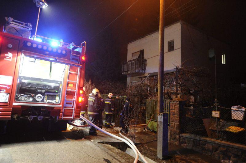 Lakástűzben meghalt egy idős férfi Budapesten